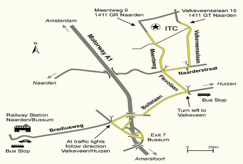 ITC routebeschrijving